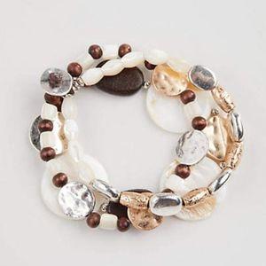 J. Jill - Very Pretty Three Strands Bracelets NWT